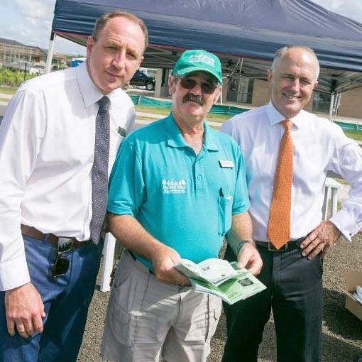Malcolm Turnbull visits Mango Hill
