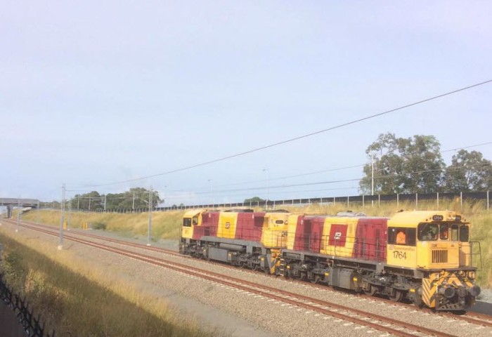 Train Testing on the Moreton Rail Link
