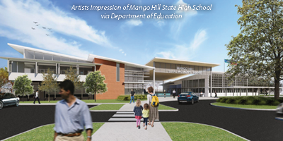 Artists-impression-mango-hill-state-high-school